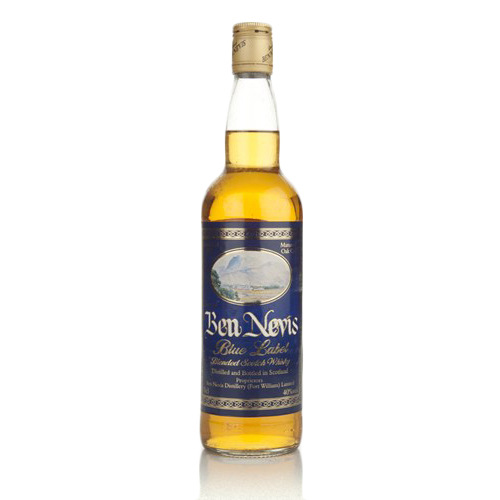 Ben Nevis Blue Label blended whisky