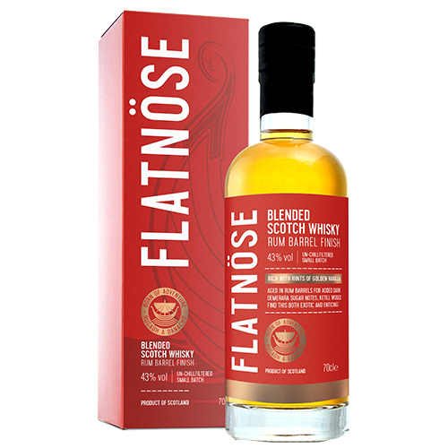 Flatnöse Blended Scotch Whisky Rum Finish