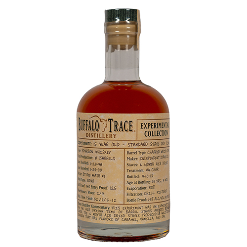 Buffalo Trace Experiment 15 Year Old