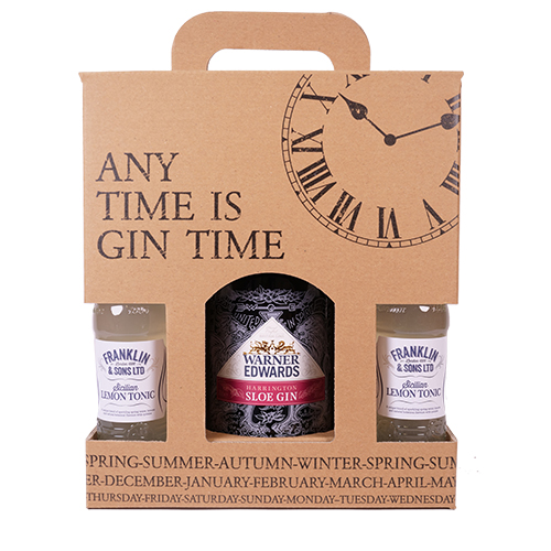 Gin Time - Warner Sloe Gin & 4 x Lemon Tonic