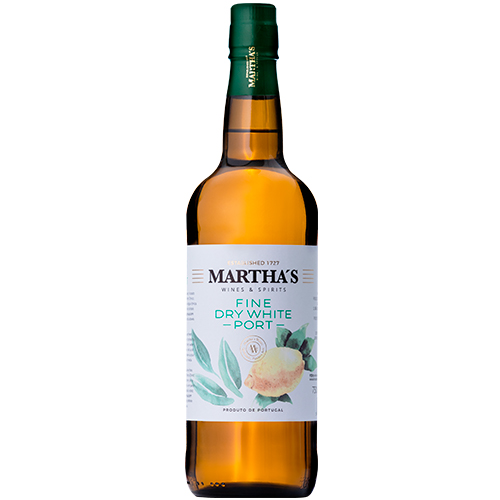 Martha's Fine Dry White Port
