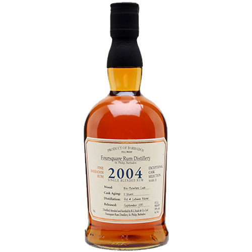 Foursquare 2004 Cask Selection Rum Barbados