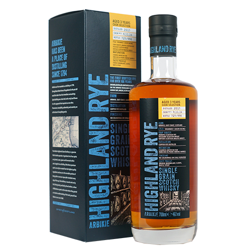 Arbikie Highland Rye Single Grain Scotch Whisky