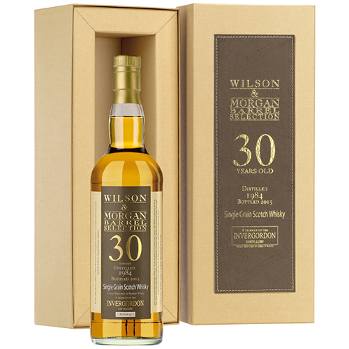 Invergordon 1984 grain malt 30 år Sherry Finish - W&M