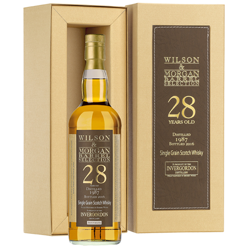 Invergordon 1987 grain malt 28 år Sherry Wood - W&M