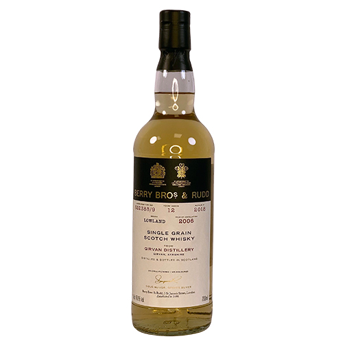 Girvan Grain Malt Whisky - Berry's Own