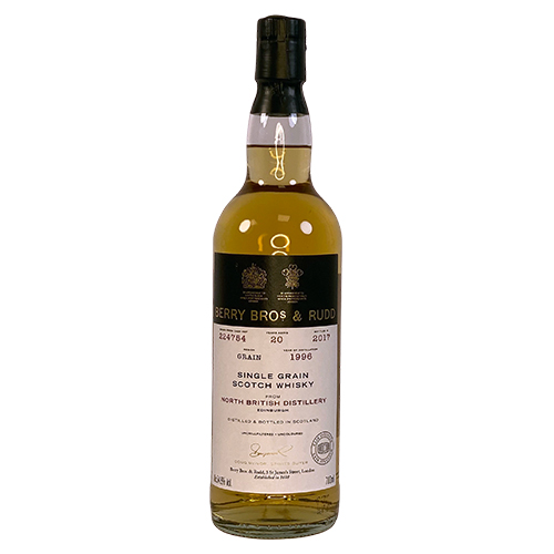 North British 1996 Single Grain Whisky - Berry's Own