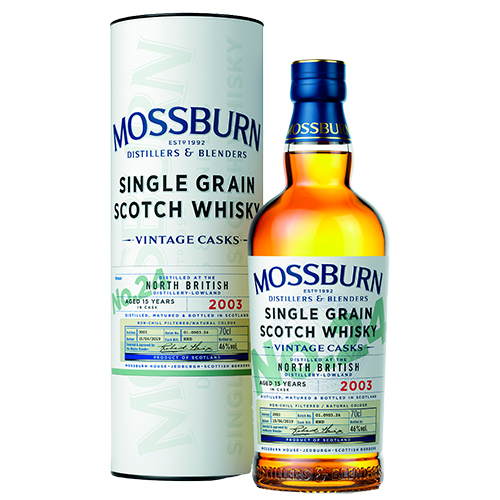 Mossburn North British 15 år Single Grain