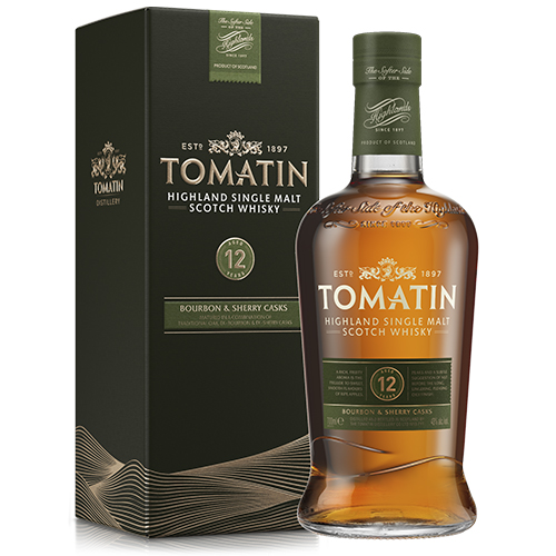 Tomatin 12 år Highland Single Malt Scotch Whisky