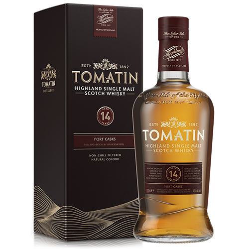 Tomatin 14 år Highland Single Malt Scotch Whisky Port Casks