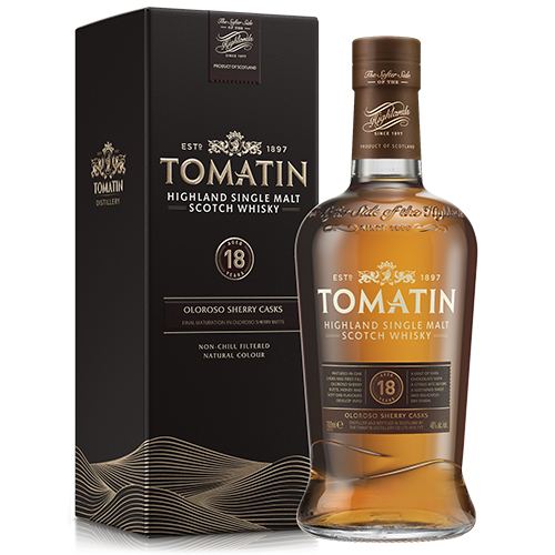Tomatin 18 år Single Highland Malt Scotch Whisky