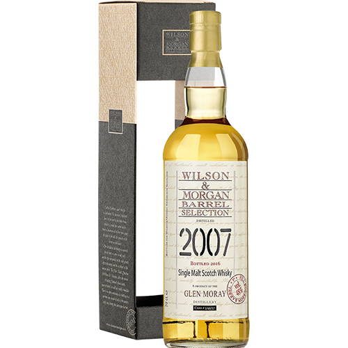 Glen Moray 2007 Single Malt 1st fill Bourbon Barrel 9 år