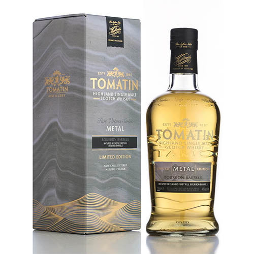 Tomatin Metal Single Highland Malt Scotch Whisky