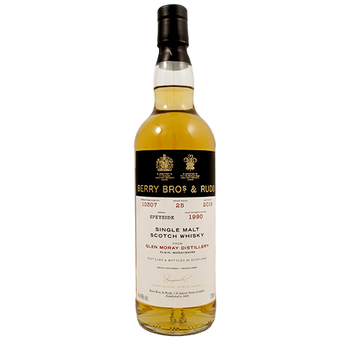 Glen Moray 1990 single malt 25 år #10307 - Berry's