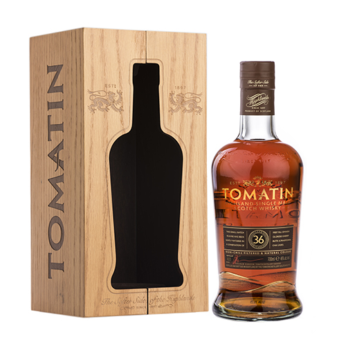 Tomatin 36 år Single Highland Malt Scotch Whisky
