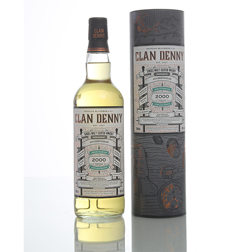 Auchentoshan Single Malt 2000 16 år Clan Denny
