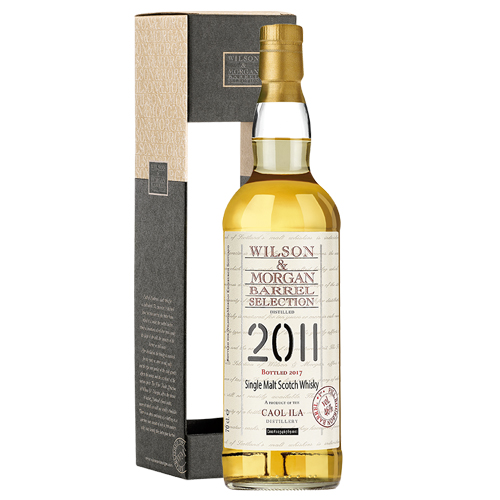 Caol Ila 2011 single malt 1st fill Bourbon barrel