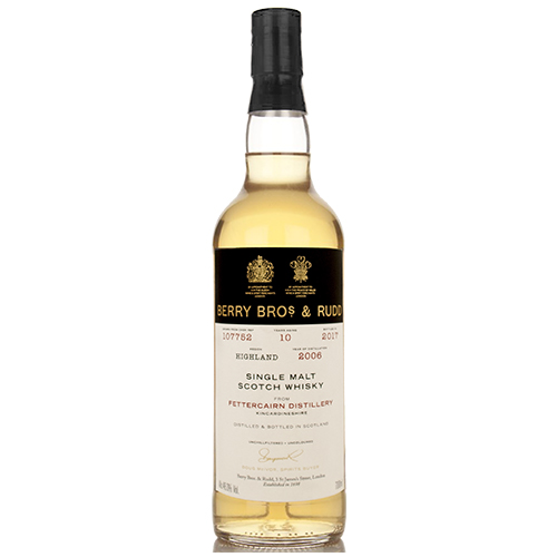 Fettercairn 2006 single malt 10 år  - Berry`s Own