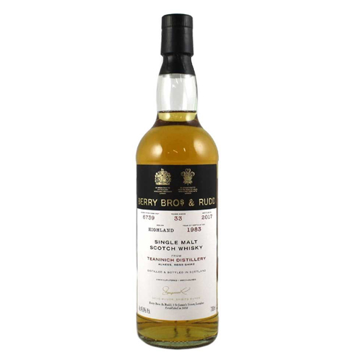 Teaninich 1983 single malt 33 år  - Berry`s Own