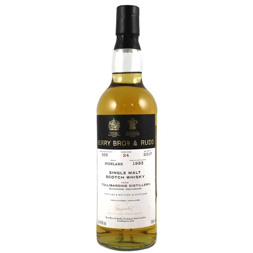 Tullibardine 1993 single malt 24 år  - Berry`s