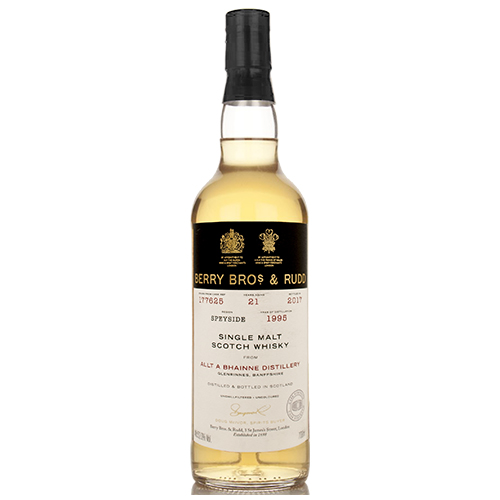 Allt Bhainne 1995 single malt 21 år  - Berry`s Own