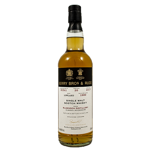 Bladnoch 1990 single malt 26 år  - Berry`s Own