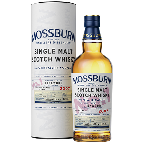 Mossburn Linkwood 10 år single malt