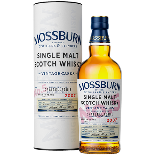 Mossburn Craigellachie 10 år single malt