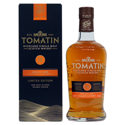 Tomatin 15 år Single Malt Moscatel Ltd.