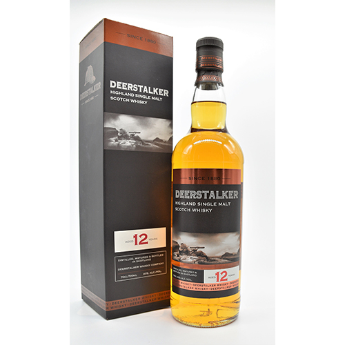 Deerstalker single malt 12 år Unchill-Filtered - NY