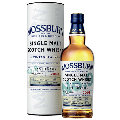 Mossburn Royal Brackla 10 år single malt