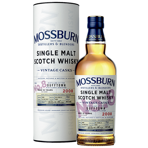 Mossburn Dufftown 10 år single malt