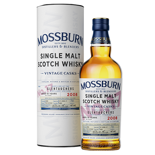 Mossburn Glentauchers 10 år single malt