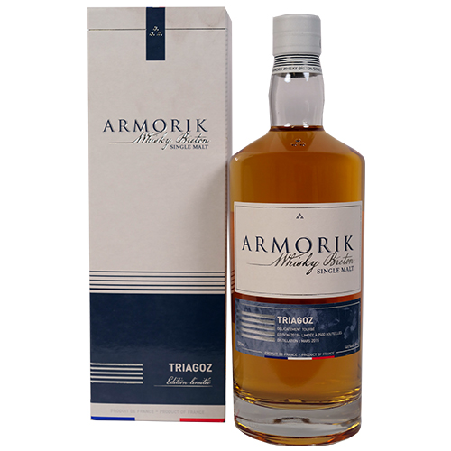 Armorik Triagos Single Malt 2nd Lightly peated