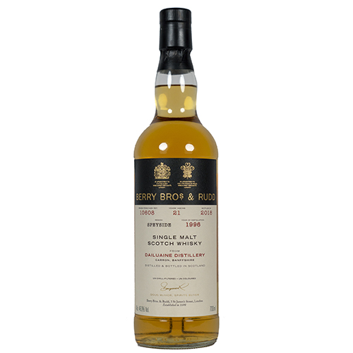 Dailuaine 1996 single malt 21 år  - Speyside Berry's