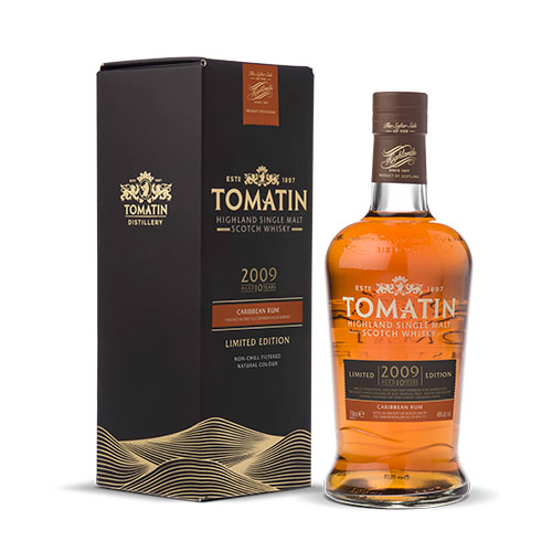 Tomatin 2009 Single Highland M. Scotch Whisky Caribbean rum