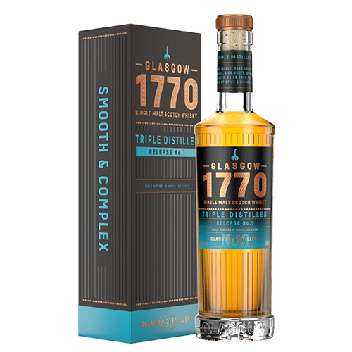 1770 Glasgow Single Malt Scotch Whisky Triple Distilled