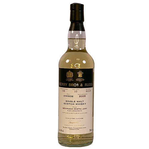 Benriach 2008 single malt 10 år - Berry`s Own