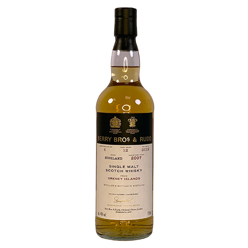 Orkney 2007 single malt 12 år  - Berry`s Own