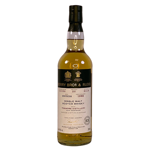 Tormore 1992 Single Malt Scotch Whisky - Berry`s Own