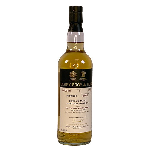 Aultmore 2010 Single Malt Whisky - Berry`s Own