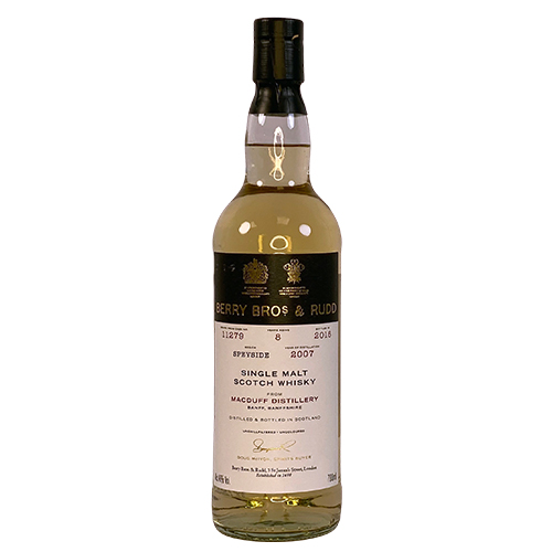 Macduff 2007 Single Malt Whisky - Berry`s Own