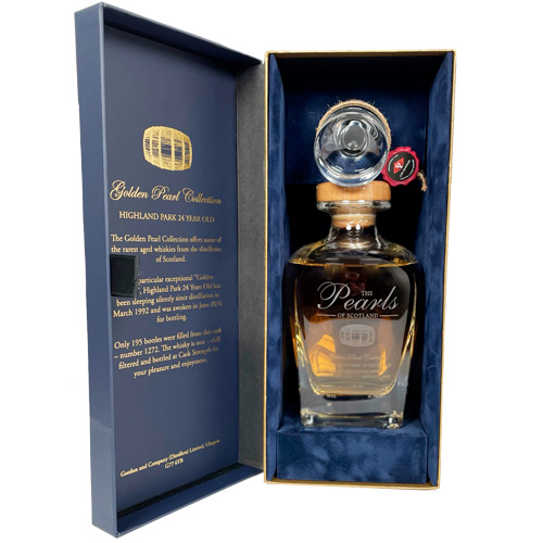 Highland Park 1992 single malt 24 år c.s. - Golden Pearl