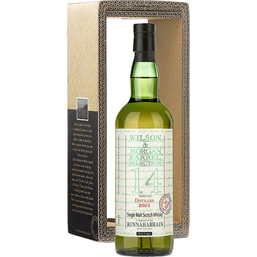 Bunnahabhain 2001 single malt 14 år Sherry Wood