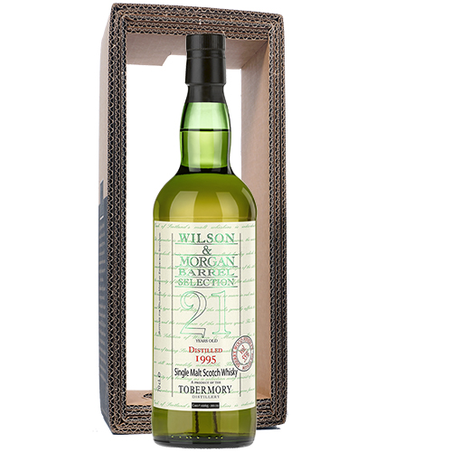 Tobermory 1995 single malt 21 år PX Finish