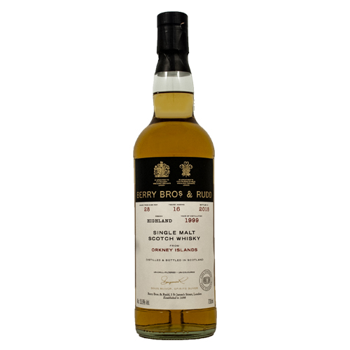 Orkney 1999 single malt 16 år  - Berry`s Own