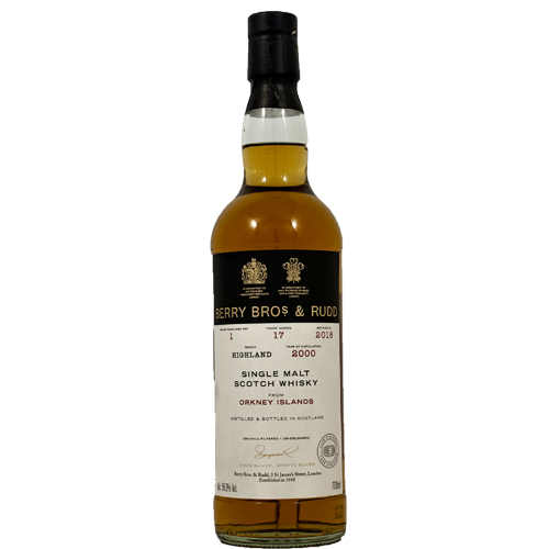 Orkney 2000 single malt 17 år  - Berry`s Own