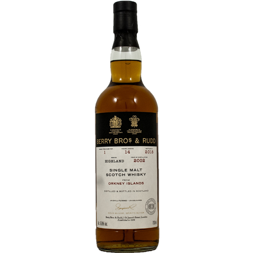 Orkney 2002 single malt 14 år  - Berry`s Own