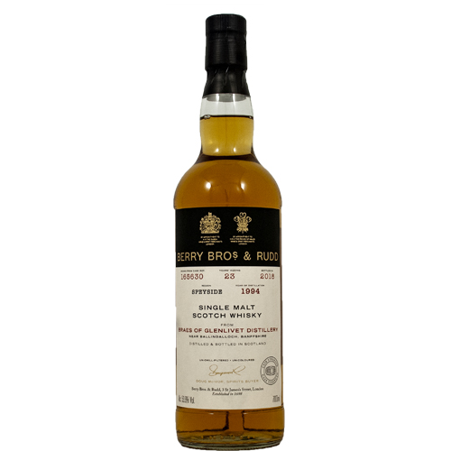 Braes of Glenlivet 1994 Single Malt - Berry`s Own
