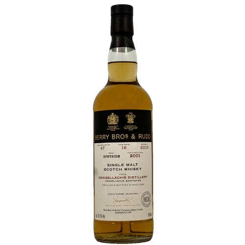 Craigellachie 2001 single malt 16 år - Berry`s Own
